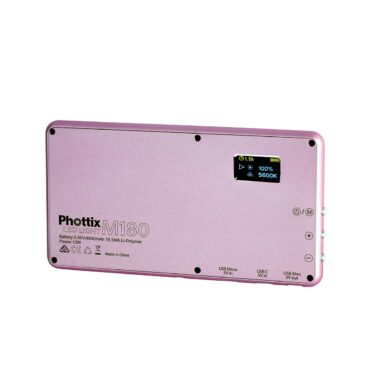 Phottix M180 LED Light (Rose Gold)【生産完了品】