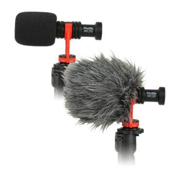 Phottix MC20 MicroPhone Kit