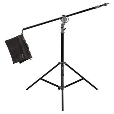 Phottix Saldo 395 Studio Boom Light Stand (395cm/156″)